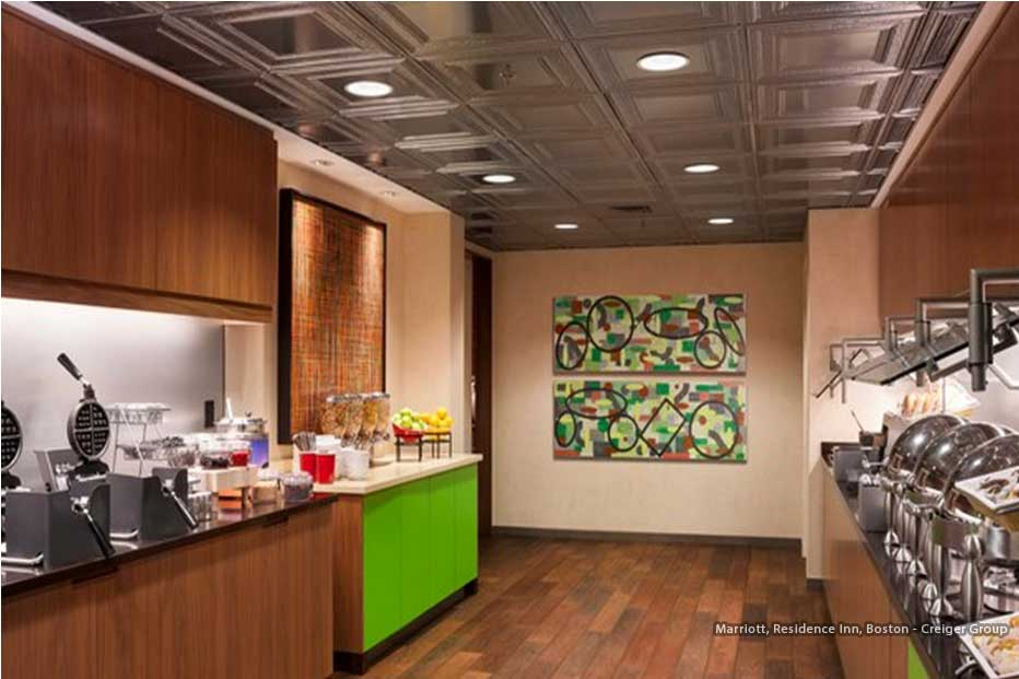 Boston Art Rentals - Creiger Group - Marriott, Residence Inn, Boston, MA