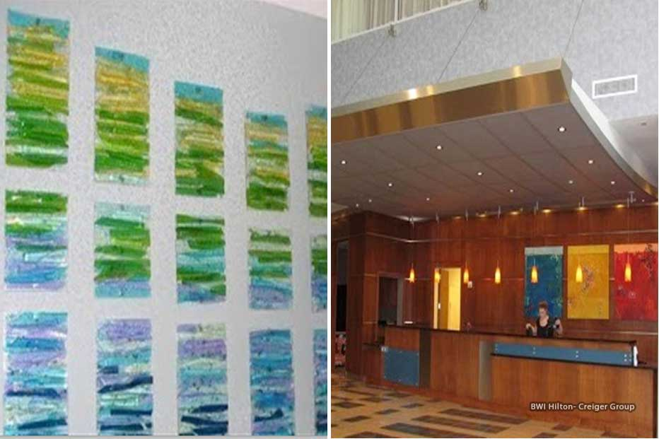 Boston Art Rentals - Creiger Group - BWI Hilton