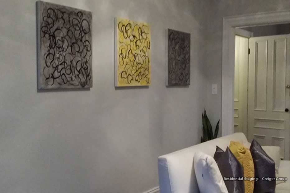Boston Art Rentals - Creiger Group - Residential Staging and Art Decorating